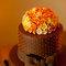 O bolo do casamento sabor chocolate da Casal Garcia Bolos. Foto: Anderson Marcello