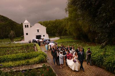 Protocolo: tips básicos para bodas religiosas