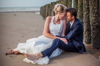 Le joyeux mariage de Melissa et Ludovic entre une jolie plage et un château du nord de la France