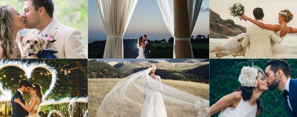 21 contas de de Instagram que você precisa seguir durante a organização do seu casamento