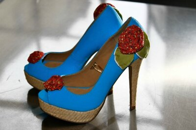 High End Heels for Wedding Guests - why not DIY a couture look?