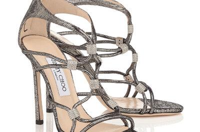 Zapatos de novia Jimmy Choo 2017. ¡Diseños de lujo para lucir tus pies!