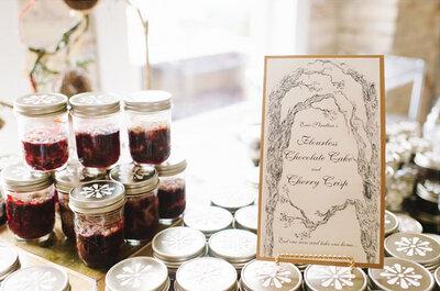 Real Wedding: Detalles retro que transformarán tu boda al máximo