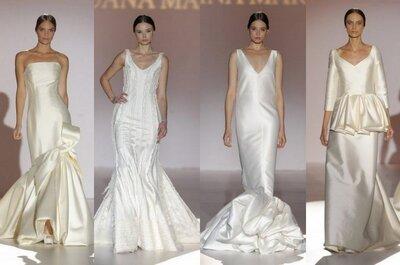 Juana Martín 2015: vestidos de novia con glamour flamenco