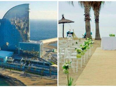 Los 8 mejores lugares para una boda en la playa en Barcelona