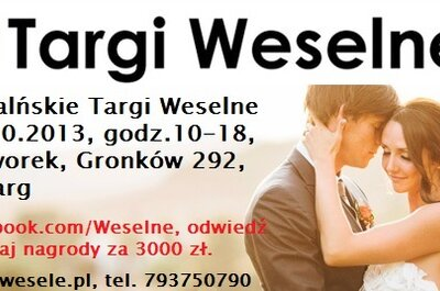III Podhalańskie Targi Weselne  26-27 października 2013r. + KONKURS