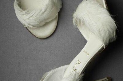Ideias modernas e atuais: plumas no seu casamento