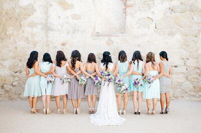 ¿Conoces cuál es el papel de las damas y los caballeros de honor en una boda?