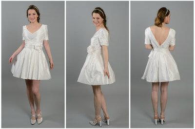 C'est l'été: on mise sur une robe de mariée courte