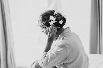 9 errores que las novias suelen cometer la mañana de la boda