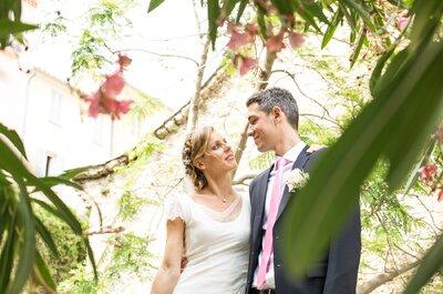 Cécile et Bruno : Une rencontre à Boston, une demande à Bali... Et un joli mariage dans le Sud de la France