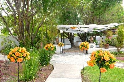 Un jardín para enamorarte: Quinta Pavo Real del Rincón