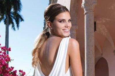 Vestidos de noiva Sweetheart 2015: luxo e elegância exótica