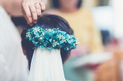 Cómo elegir el peinado de novia: 6 consejos para sacar lo mejor de ti