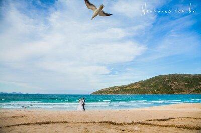 Casamento ao ar livre no Rio de Janeiro: as fotos mais impressionantes