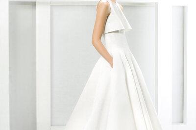 Últimas tendências de vestidos de noiva com bolso: estilo total!