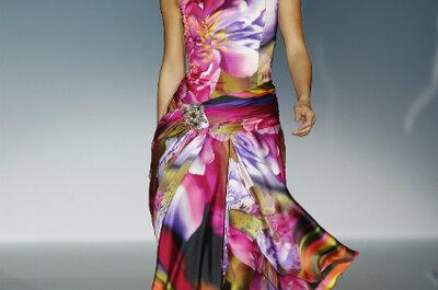 Vestidos de festa floridos: para convidadas românticas