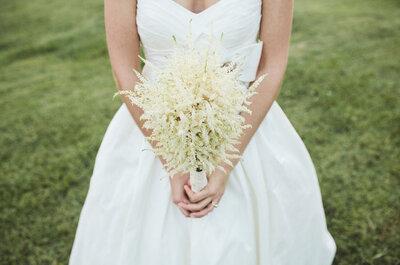 Elegimos 17 ramos de novia del año 2012 para que te inspires