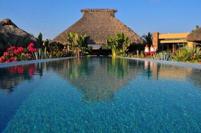 Envuelve tu boda en un remanso de serenidad y lujo con Amalys Luxury Resort