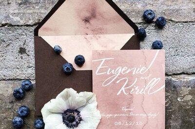 Как создать идеальные приглашения на свадьбу? 5 советов от экспертов. Не пропустите!