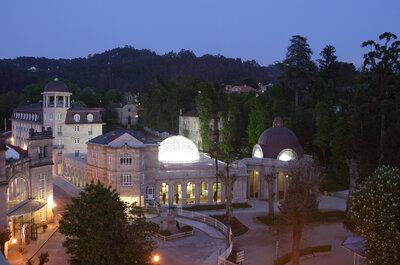 Una boda belle époque en Galicia en el Balneario de Mondariz