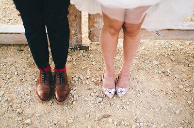 ¿Novias sin tacones? 4 motivos para no llevarlos el día de tu matrimonio