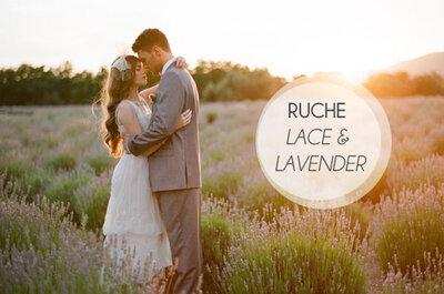 Mais vintage: a coleção de vestidos de noiva Ruche