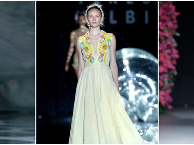 Looks de infarto en la tercera jornada de Mercedes Benz Fashion Week Madrid Primavera-Verano 2017
