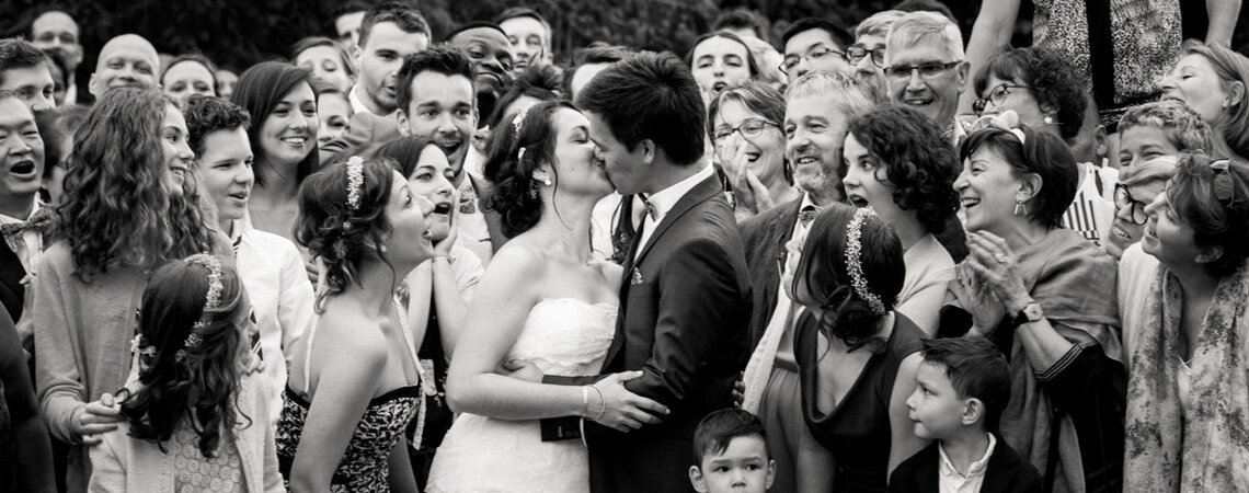 Corentine et Jean-Vannak : Un magnifique mariage en Bretagne dans les tons pastel