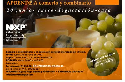 La vida y el queso: curso, degustación y cata este 20 de junio
