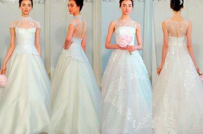 Tendencia 2014: Vestidos de novia con escote en la espalda