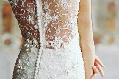 Różne dekolty sukien ślubnych