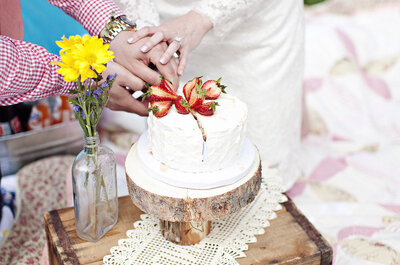 Un'idea alternativa: un picnic per un matrimonio rustico-chic!