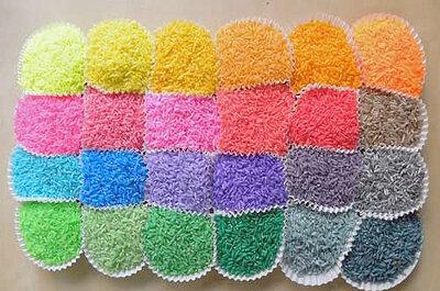 Crea tu propio arroz de colores para la boda