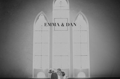 Romántica boda de Emma y Dan en Inglaterra