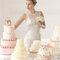 Hochzeits-Kleid: Brautkleid mit durchsichtigem U-Boot Ausschnitt über V-Ausschnitt