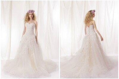 Des robes de mariée contemporaines et créatives à découvrir dans la collection 2015 d'Aurélie Cherell
