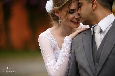 Daniele & Junior: mini wedding DIY romântico e emocionante em Curitiba