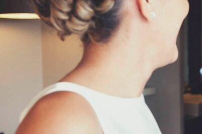 Peinados de novias con pelo rizado 2015: ¡elige el tuyo!