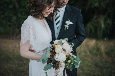 As 6 flores tendência para a decoração de casamentos em 2017