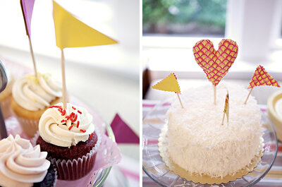 Infaltables del Candy Bar: Cupcakes, muffins y...¡macarons!
