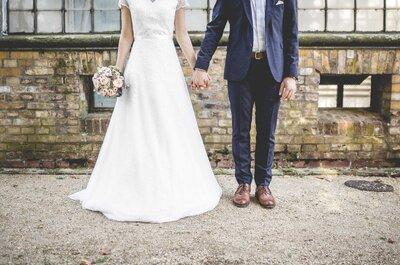 Traumhafte Hochzeit am Wannsee – Lea & Dominic feierten eine rustikal-elegante Hochzeit