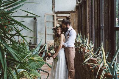 ¡Cásate en un invernadero! Un paraíso vegetal en plena ciudad