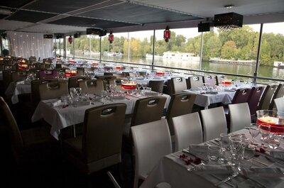 Célébrez votre mariage dans un lieu atypique en bord de Seine