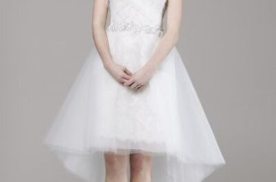 The 5 best short wedding dresses from US Bridal Fashion Week 2013