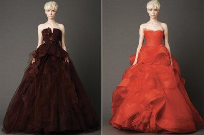 Vestido de noiva colorido: uma seleção Zankyou!