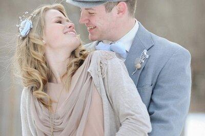 Dicas de vestidos de noiva e agasalhos para os meses mais frios