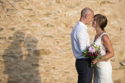 Le joli mariage provençal d'Elke et Steven, en toute simplicité !