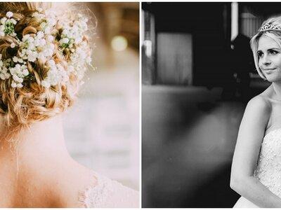 Bruidskapsels voor kort en half-lang haar!