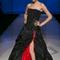 Audace rosso e nero per una sposa diavolessa... Foto via Si Sposa italia